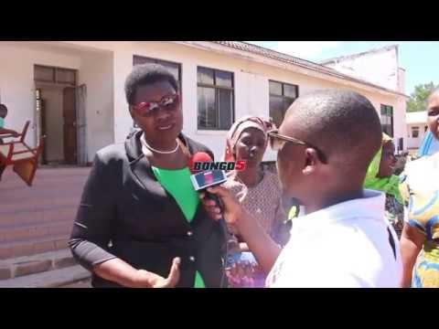 Naibu Waziri wa Ardhi Angelina: Diamond tunaomba utujengee bweni/ Wewe ni mtetezi