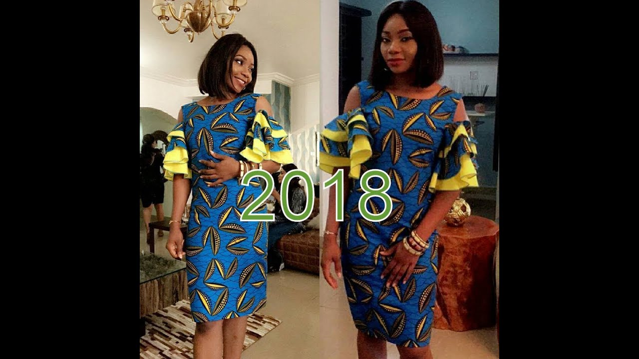 Ankara Short Gowns Styles 2017/2018 : Best Of Best African