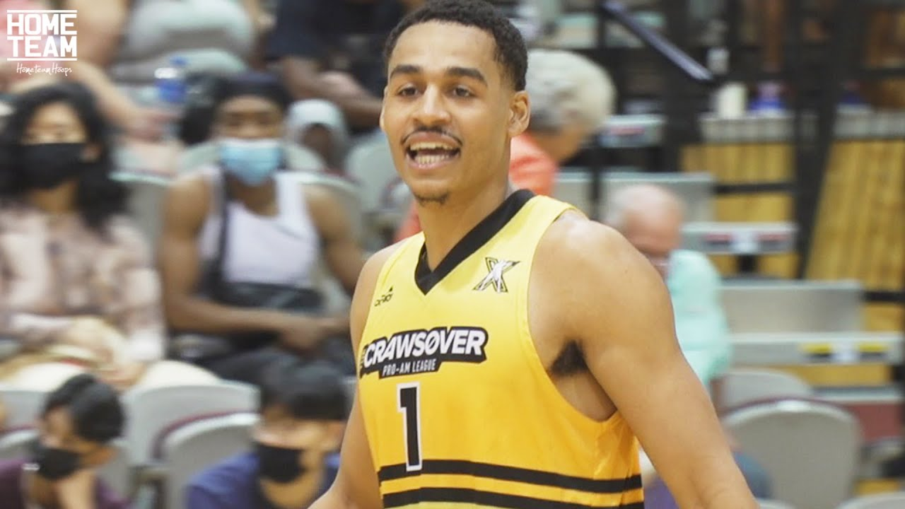 Jordan Poole LIGHTS IT UP In Debut at The Crawsover! Golden State Warriors