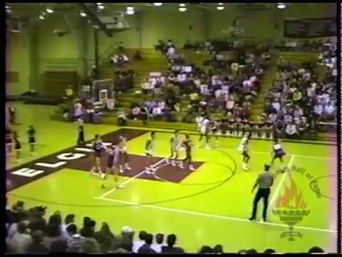 ESHOFF OFFICIAL VIDEO - Larkin High School vs. Elgin High School - Varsity Basketball - 1/21/89