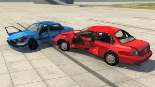 BeamNG.drive - Old Car vs New Car