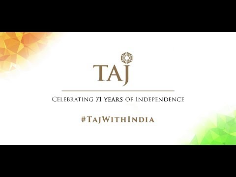 Celebrating 71 years of Independence. #TajWithIndia
