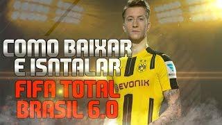 FIFA 14 - COMO BAIXAR E INSTALAR FIFA TOTAL BRASIL 6.0 E 6.1