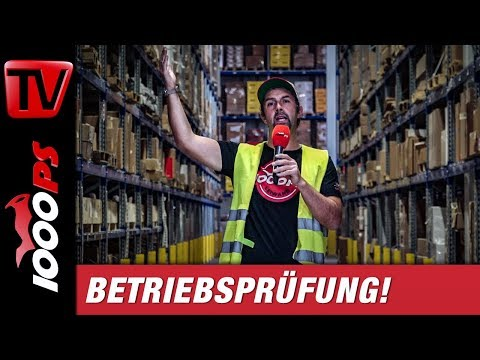 Vauli im Logistik-Paradies von Parts Europe