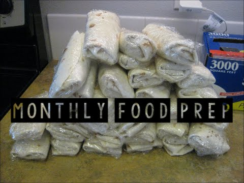 Monthly Food Prep!