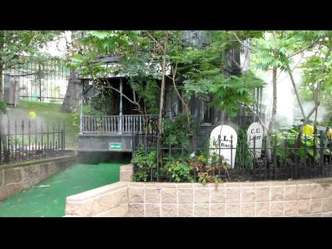 Thelope Com Adventure Golf Haunted House And Grave Yard