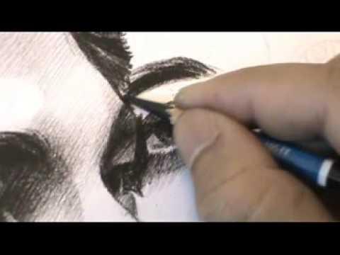 Drawing portrait Artiste ภาพวาดลายเส้นนักแสดงภาพยนต์เรื่องแวมไพร์ ทไวไลท์