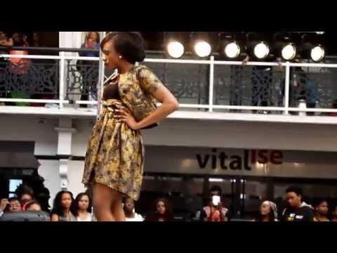 Afro Hair & Beauty Live On The Catwalk