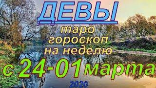 ГОРОСКОП ДЕВЫ С 24 ФЕВРАЛЯ ПО 01 МАРТА.2020