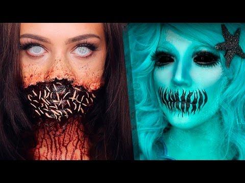 Top 13 DIY Halloween Makeup Tutorials Compilation 2017 | part 2!