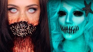 Top 13 DIY Halloween Makeup Tutorials Compilation 2017 | part 2!