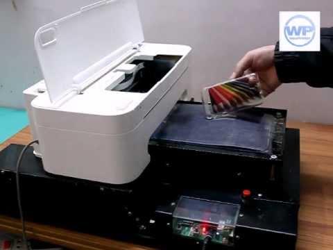 Flatbed Inkjet Printers Youtube