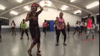 EDAJ Dancercise 9th Class( Featuring MACHEL MONTANO Haunted & Surprise routine)