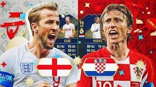 LA MEJOR PLANTILLA DE LA SEMIFINAL ENTRE INGLATERRA Y CROACIA!! | FIFA 18