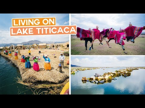 Living on Lake Titicaca | Floating Village in Peru