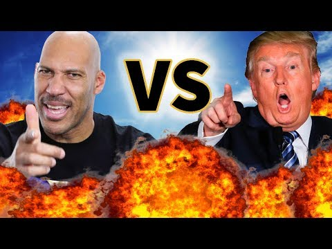 LAVAR BALL VS. DONALD TRUMP | Before They Were Famous