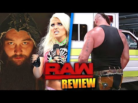 WWE RAW SUPERSTAR SHAKEUP REVIEW 😲 STROWMAN LIFTS AMBULANCE, MIZ & ALEXA BLISS JOIN RAW (10/4/17)