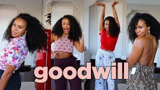 WHAT I GOT FOR $100 SHOPPING AT GOODWILL (6+ outfits) ?