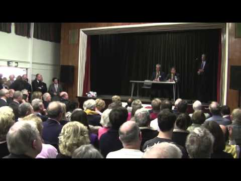 Nigel Farage at Chalfont St. Peter January 25 2014
