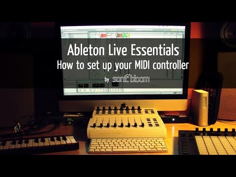 ableton live tutorial how to set up any midi controller youtube. Black Bedroom Furniture Sets. Home Design Ideas