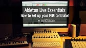 Ableton LIVE Tutorial - Akai MPD16 setup - YouTube