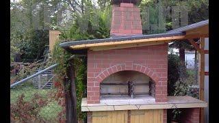 Печь барбекю своими руками - BBQ make yourself(Как построить барбекю. Печь барбекю своими руками. Уроки строительства печей, коптилен, барбекю и т.п. на..., 2014-09-27T10:40:33.000Z)