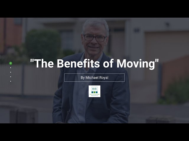 The Benefits of Moving | BIR Solutions