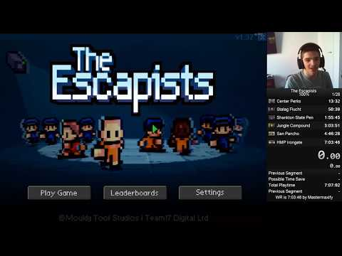 The Escapists PC 100% Speedrun In 03:41:46 (Old World Record)