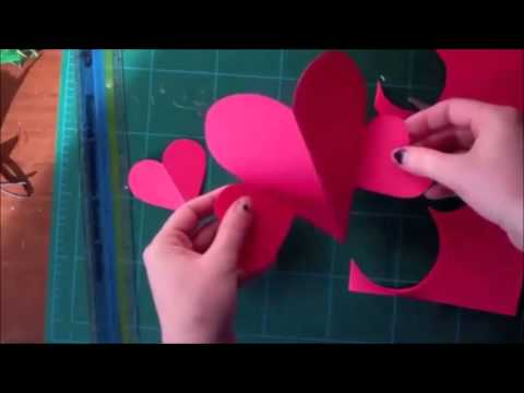 How to Make Easy Valentines Day Card DIY YouTube – How to Make Valentines Day Cards