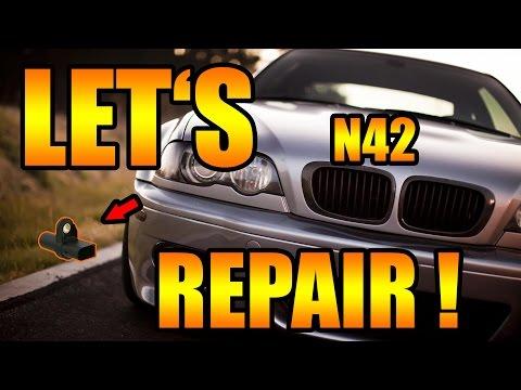Let's Repair BMW - E46 N42 Kurbelwellensensor selber wechseln [BMW E46 4 Zyl. N42] DIY