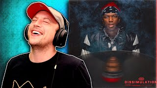 KSI - DISSIMULATION - FULL ALBUM REACTION/REVIEW!!!