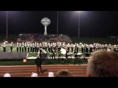 Grandville High School Marching band 10/29/2016