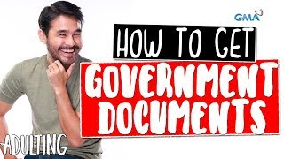 Adulting with Atom Araullo: How to get basic government documents   GMA One