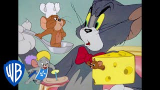 Tom & Jerry | Food War! | Classic Cartoon Compilation | WB Kids