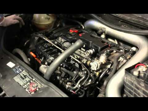 How to reinstall intake manifold on a VW MK5 (FSI)