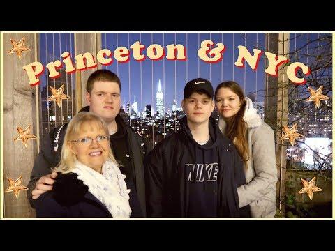 princeton + new york city travel diary | vlog