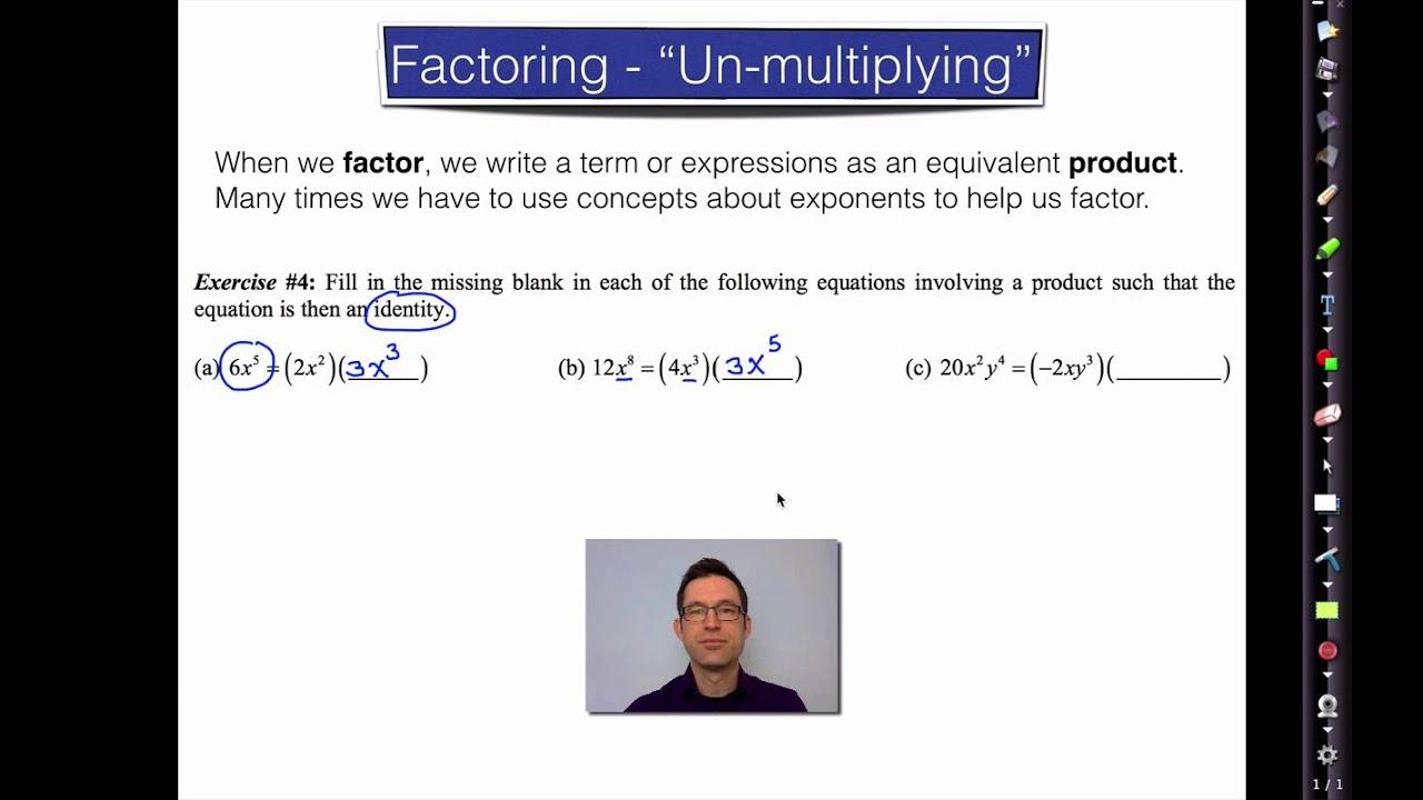 Common Core Algebra Ii Unit 1 Lesson 4sic Exponent