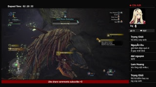 Ahihi Stream - Monster Hunter World High Rank - TẬP 18 - Đập Đá