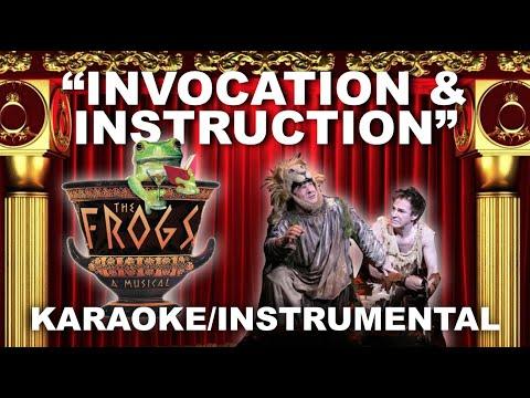 """Invocation and Instruction"" - The Frogs [Karaoke/Instrumental w/ Lyrics]"