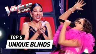 The MOST UNIQUE & UNEXPECTED Blind Auditions on The Voice Kids