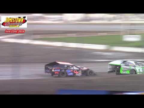 Jamestown Speedway WISSOTA MW Modified A-Main (6/22/19)