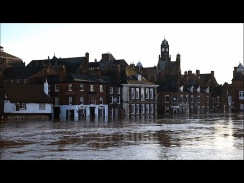 """Worst flooding in York since 2000"""