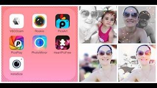 PicsArt App como desfocar foto? como colorir foto preto/branco?