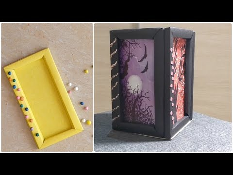 Photo Frame Making at Home with Paper | DIY Latest Picture Frame design