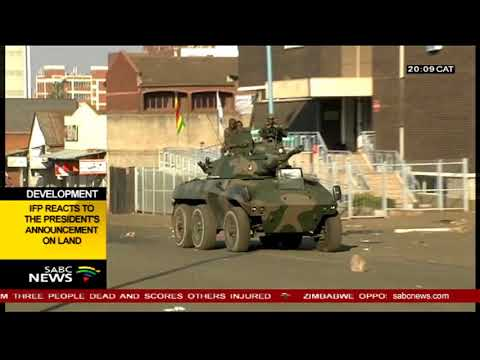 Brian Kagoro speaks on Harare violence