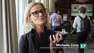 Interview - Michelle Corp - eCommerce & Commercial Manager, Hotel Chocolat