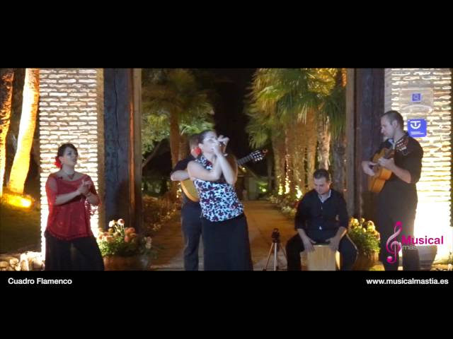 Cuadro Flamenco - Musical Mastia - bodas y eventos Murcia Almeria Alicante Granada