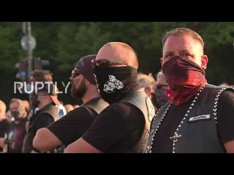 Germany: Hells Angels rally in Berlin against logo ban
