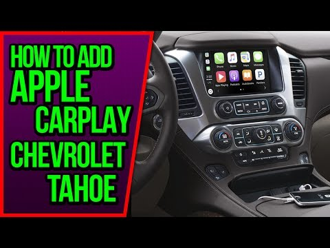 Download Chevrolet Tahoe 2015 2019 Navigation Mylink Video Interface