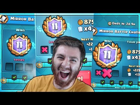 WORST LUCK EVER!! 12 WINS FAILED 5 TIMES!?!   Clash Royale   WORST CLASH DAY EVER!!